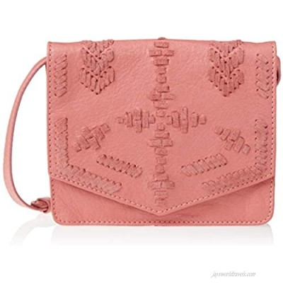 Lucky Rela Whipstitch Small Crossbody NEW CORAL