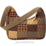 Bella Taylor Blakely Quilted Cotton Country Patchwork Shoulder Hobo Bags