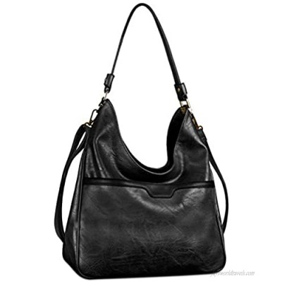 Hobo Handbags For Women Leather Purses and Handbags Large Crossbody Bags with Adjustable Shoulder Strap
