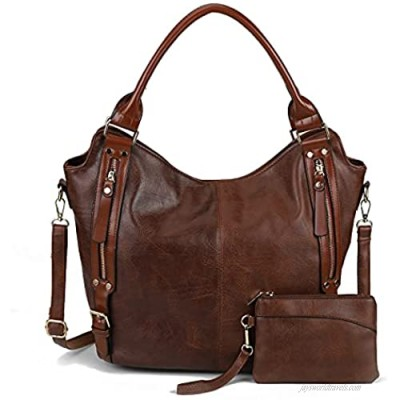 Leather Hobo Bags for women Large Crossbody Bags Top Handle Tote Purses and Handbags Fashion Shoulder Satchel Bags