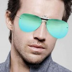 Anti Glare Polarized Clip-on Sunglasses for Unisex Suitable For Outdoor Sport