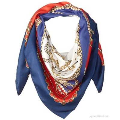 Collection XIIX womens Chain Status Square Scarf