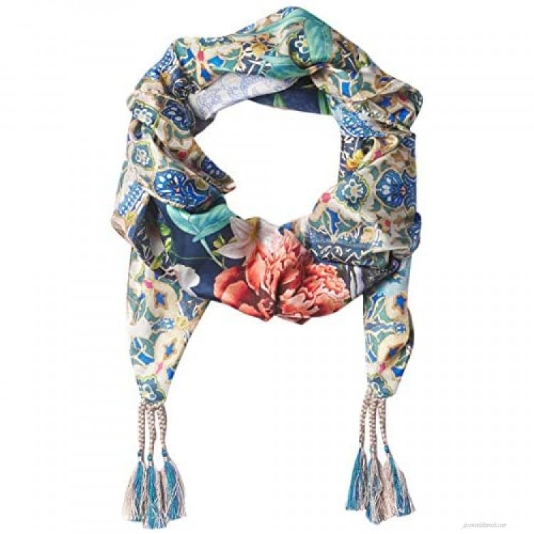 Johnny Was womens Scarf Multi O s US
