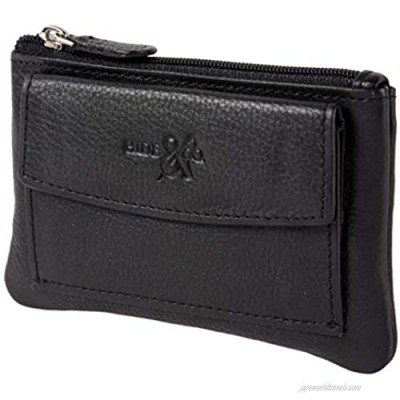 ladies small Pouch with key ring and coin pocket